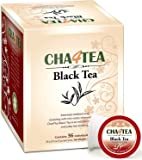 Cha4TEA K-Cup Premium Natural Black Tea, 36-Count Keurig K Cups