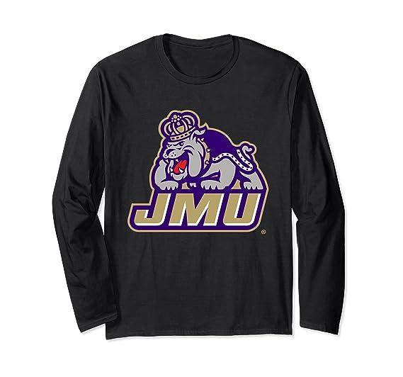 release date 226c6 08d8f Amazon.com: James Madison JMU Dukes Women's Long Sleeve T ...