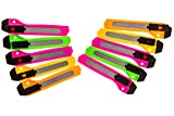 Lot of 10 Best Recommended Box Cutters Utility