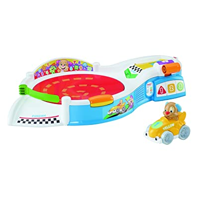 Fisher-Price Laugh & Learn Puppy's Smart Stages Speedway: Toys & Games