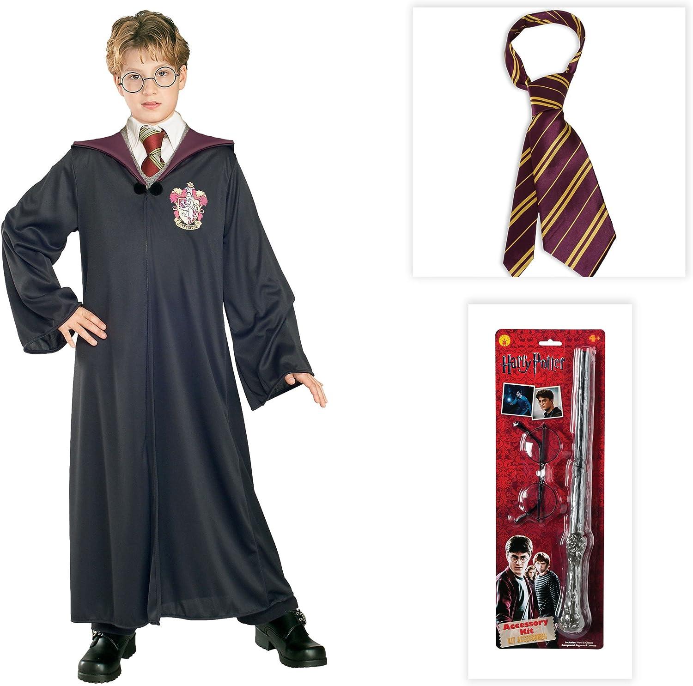 LICENSED HARRY POTTER TIE GRYFFINDOR FANCY DRESS HALLOWEEN COSTUME ACCESSORY