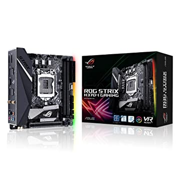 Asus Rog Strix H370-I Gaming - Placa de Base: Asustek: Amazon.es: Informática