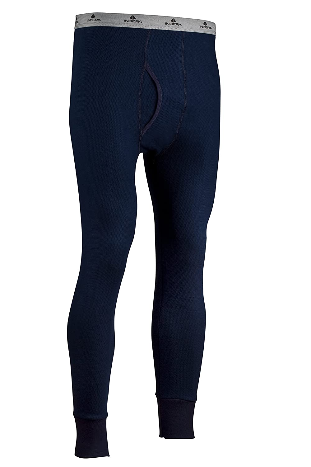 Indera Men's Icetex Cotton Outside/Fleeced Polyester with Silvadur Inside Pant ColdPruf Baselayer 286DR
