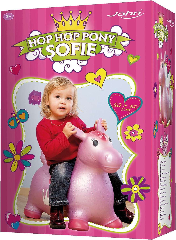 John 59026 Pony Hop Giocattolo gonfiabile, 52 x 25 x 26 cm
