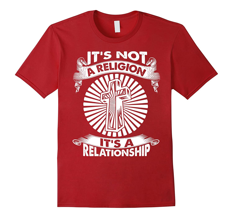 Christian T Shirts Religion Relastionship Black-Teeae