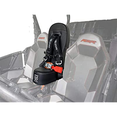 RZR1000BS RZR 1000 Bump Seat w Offroad Buckle 4-Point Harness | Center Seat | Kid Seat | RZR 1000 & 4 1000 Turbo, Dynamix Front & Rear, Turbo S, 900 S, 900 Trail, RZR 4 900, RZR 570: Automotive