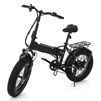 Amazon.com : Fat Tire Electric Bike with 48V SAMSUNG Battery, 350W ...