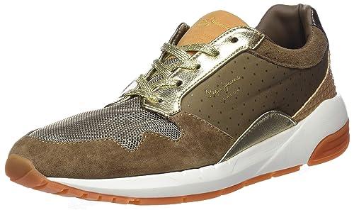 Pepe Jeans London Foster Itaka, Zapatillas para Mujer: Amazon.es: Zapatos y complementos