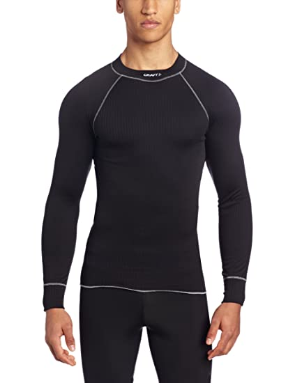 009631ccb6 Craft Sportswear Active Athletic Fitness Workout Crewneck Base Layer Long  Sleeve Shirt: cooling/sport