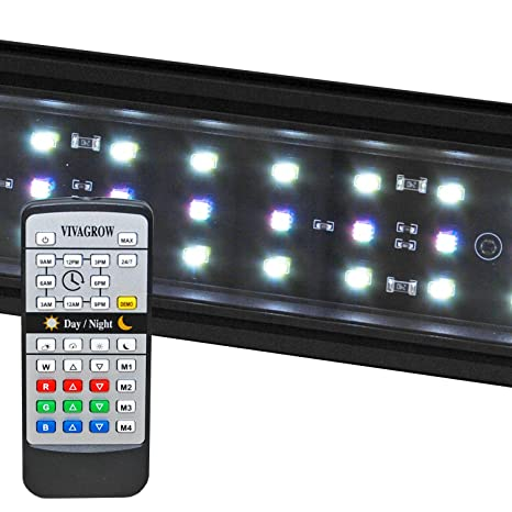 VivaGrow DN RGB LED Aquarium Light Freshwater Plant 24/7 Remote Automation (90cm -