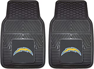 "product image for FANMATS 8933 NFL San Diego Chargers Vinyl Heavy Duty Car Mat,18""x27"""