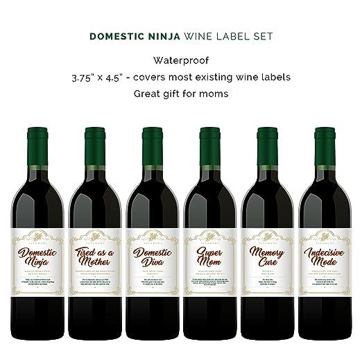 Etiquetas de vino para celebrar los primeros de la pareja. 6 ...