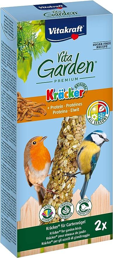 VITAKRAFT Vita Fuerza Vita Garden Kräcker proteína, 2 ...