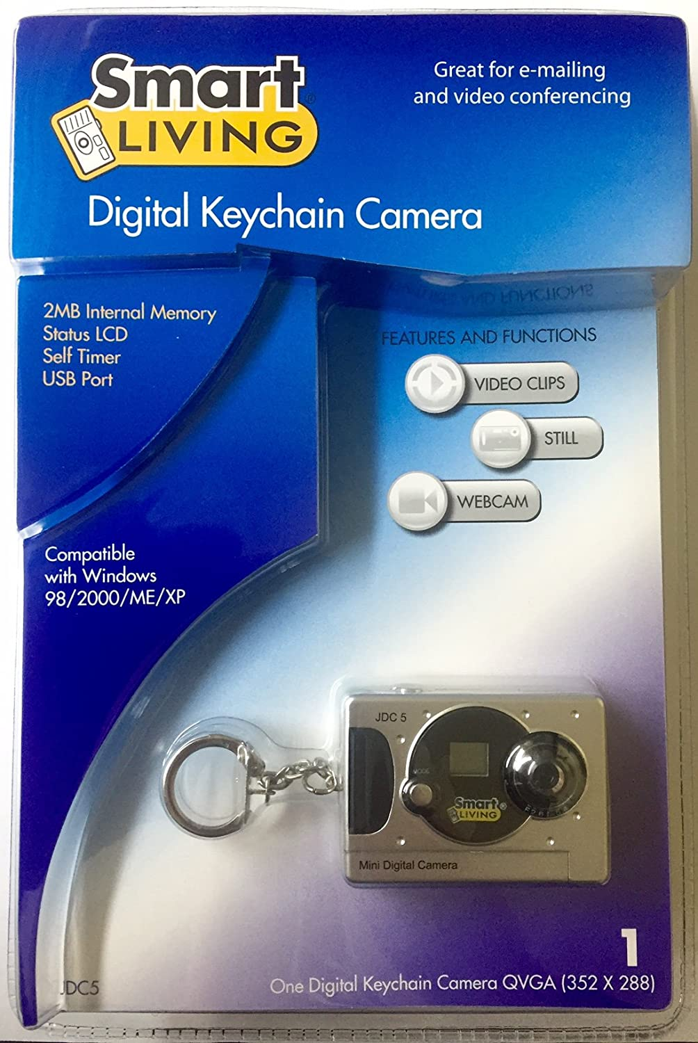 Amazon com jazz jdc5 3 in 1 digital keychain camera black point and shoot digital cameras camera photo
