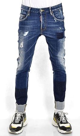 DSQUARED2 Herren Jeanshose Blau blau  Amazon.de  Bekleidung 387caa4ef3de