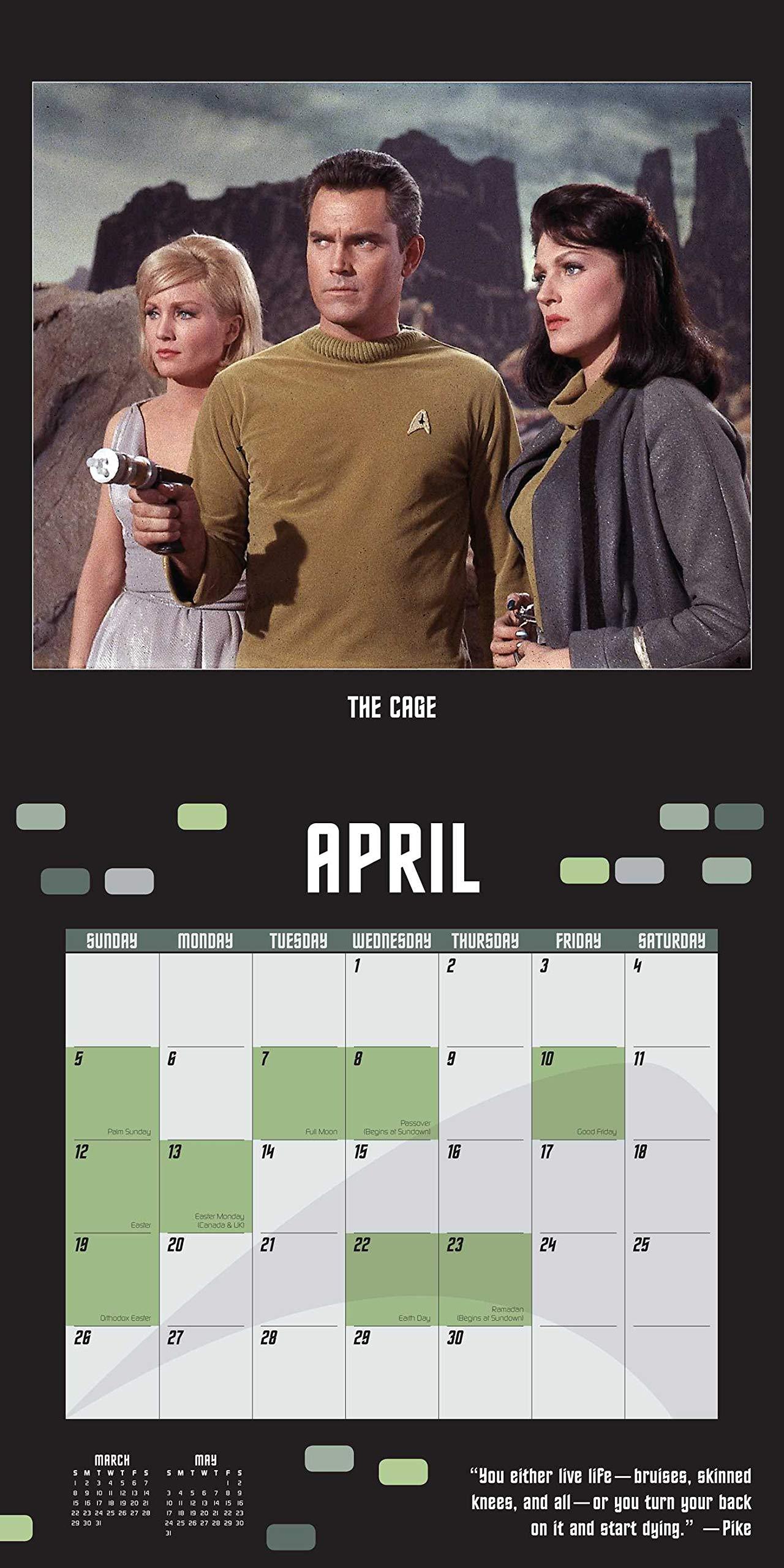Star Trek 2020 Wall Calendar: The Original Series by Universe Publishing