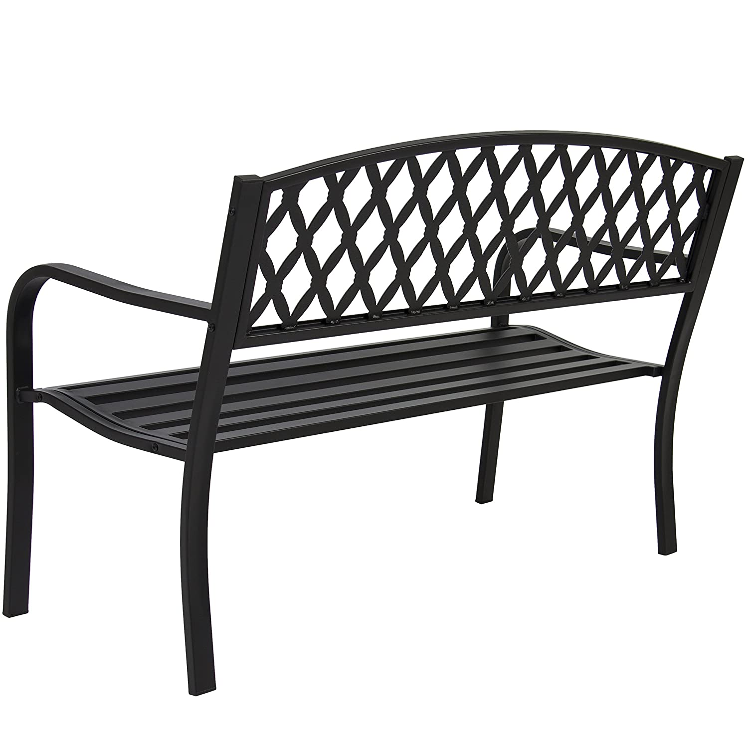 Amazon.com : Best Choice Products 50in Steel Outdoor Patio Garden ...