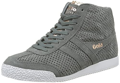 Harrier High Glimmer Leather, Womens Hi-Top Trainers Gola
