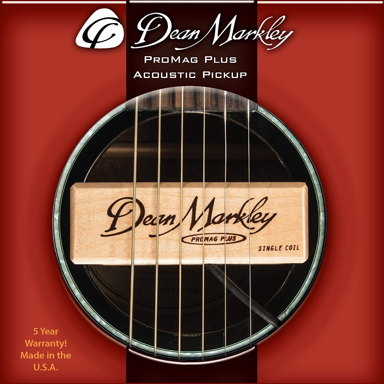 Dean Markley Pro Mag Grand Acoustic Guitar Pickup on