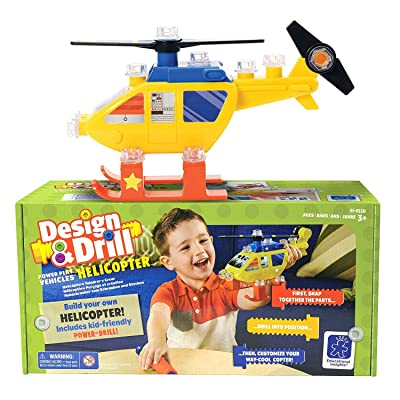 Educational Insights Design & Drill Dump Helicopter: Toys & Games