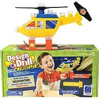 Educational Insights Design & Drill Juego de Vehículos Poderosos Helicóptero