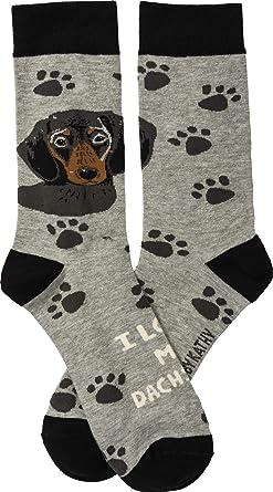 Dachshund Dog Paws Pattern Men-Women Adult Ankle Socks Crazy Novelty Socks