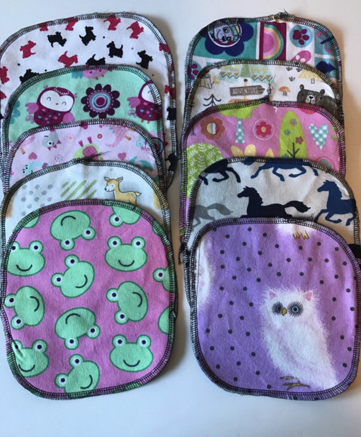 reusable baby wipes, reusable cloth wipes, eco friendly napkins