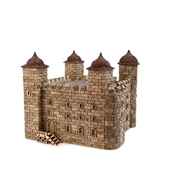 Wise Elk Toy Tower of London Construction Set, Real Plaster Bricks, Gypsum Reusable Building kit, 2000 pcs, Educational Gift: Toys & Games