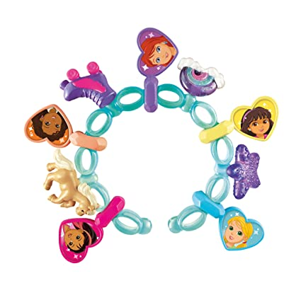 3764a797ef6bc Fisher-Price Nickelodeon Dora and Friends Dora Magic Charm Bracelet