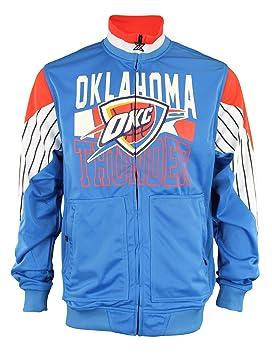 Oklahoma City Thunder NBA hombres del Paso de cremallera ATHLETIC chaqueta, azul, Atlético, Azul: Amazon.es: Deportes y aire libre