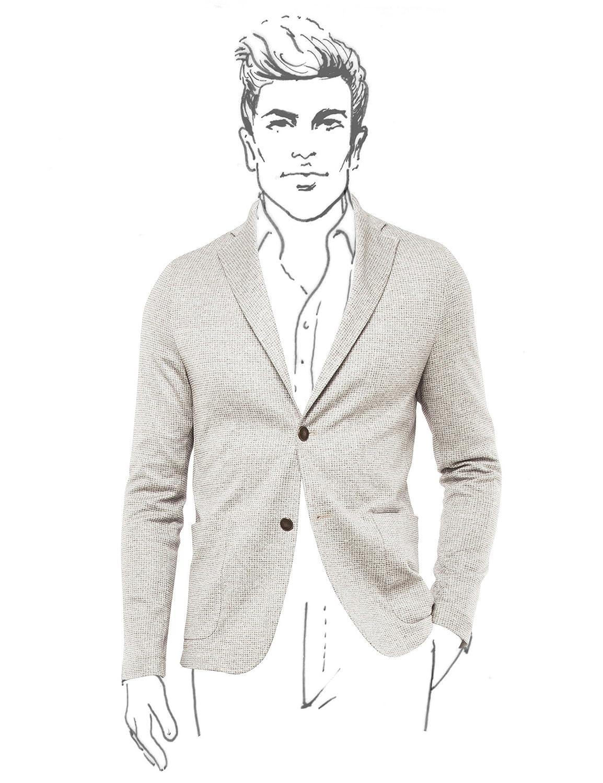 Fradi Beige Cotton Jacket Made in Italy 181POSTAGE181CN6527 B07CKR8VZ6   54