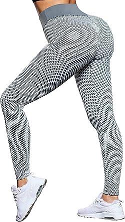 Pantalones Sexys Deportivo Para Mujer Hacer Ejercicios Yoga Leggings Elasticidad