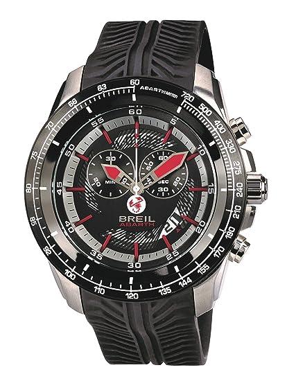 Breil Reloj Analogico para Hombre de Cuarzo con Correa en Silicona TW1488: Amazon.es: Relojes