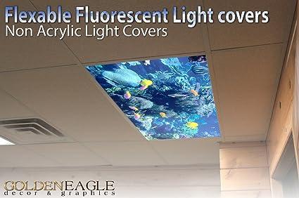 Reef skylight 2ft x 4ft drop ceiling fluorescent decorative reef skylight 2ft x 4ft drop ceiling fluorescent decorative ceiling light cover skylight film aloadofball Gallery