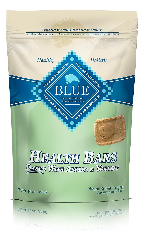 Amazon.com : BLUE Health Bars Adult Apple & Yogurt Biscuits Dog ...
