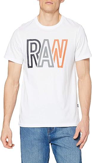 TALLA M. G-STAR RAW Raw Camiseta para Hombre