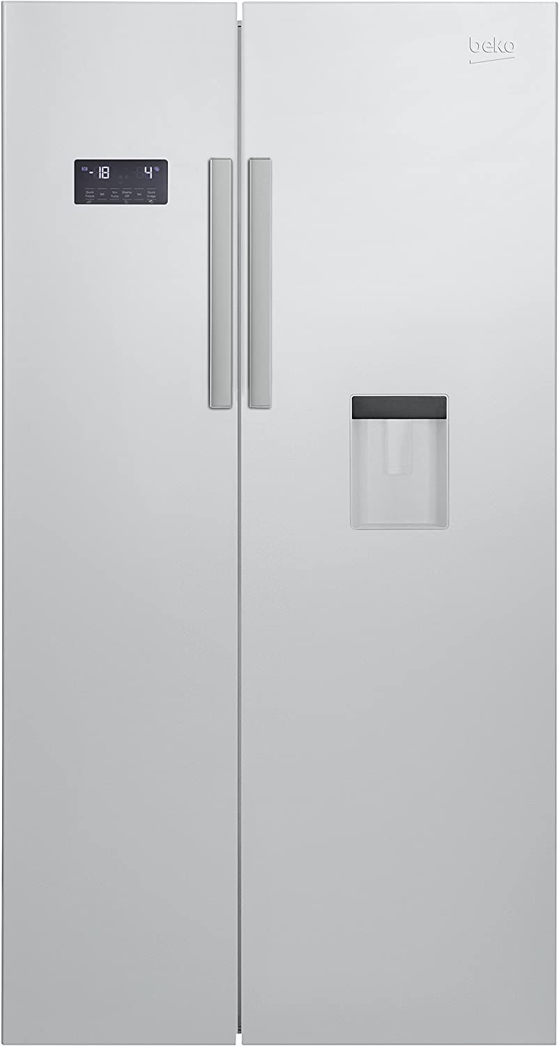 Beko GN 163221 S - Frigorífico side-by-side (Integrado, Plata ...