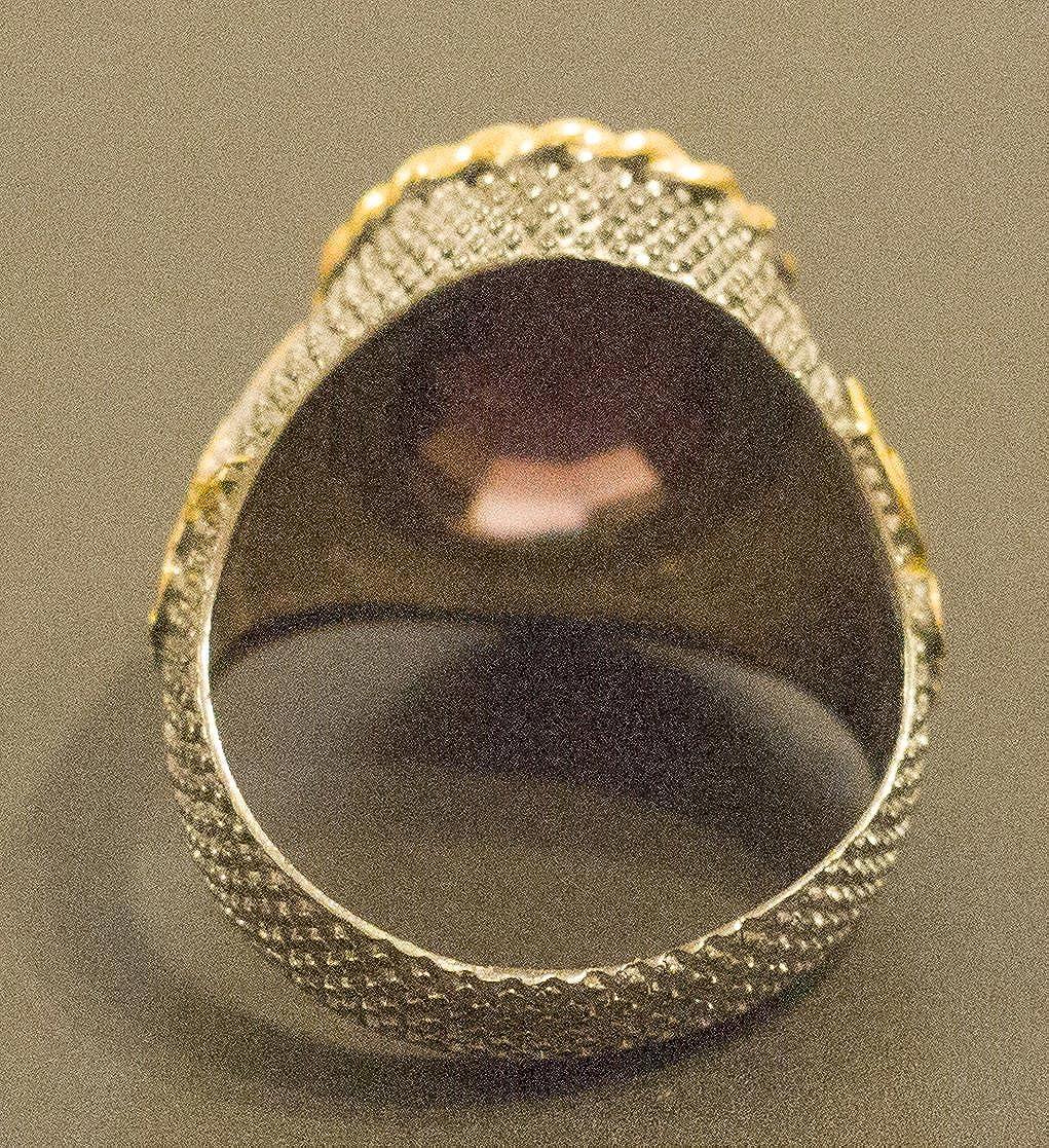 RUDRAFASHION Lovely Orange Citrine /& CZ Devil Heart Earrings 14K Black Gold Over Sterling Silver For Her