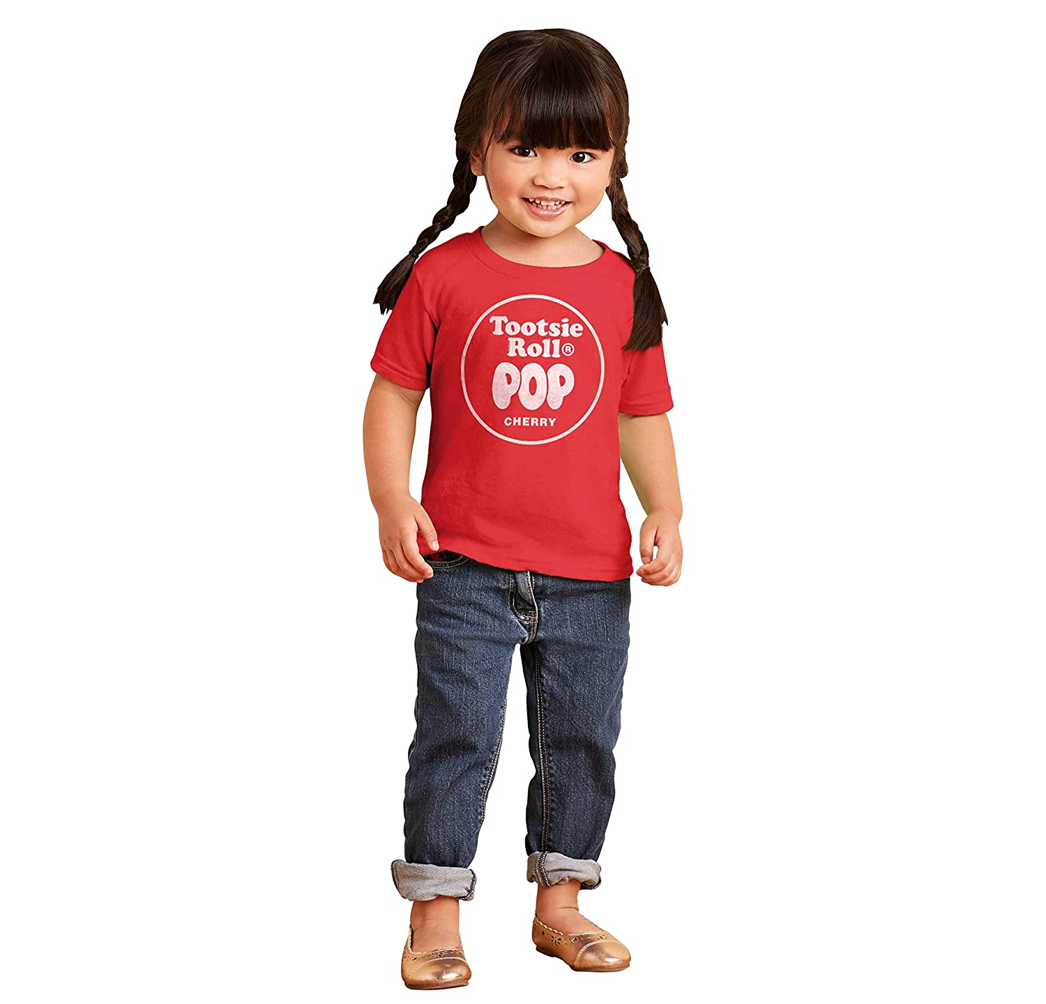 Flavored Vintage Cherry Tootsie Roll Pop Infant Toddler T Shirt