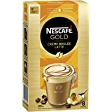 NESCAFÉ Gold Special Edition Crème Brûlée Latte Coffee Sachets 8 Serves, 140 g