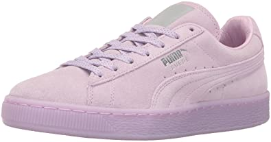 PUMA Women's Suede Classic Mono Ref Iced Wn's Fashion Sneaker, Orchid Bloom  SI, ...
