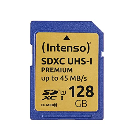 Intenso - Tarjeta de Memoria SDXC de 128 GB (45 MB/s, Clase ...