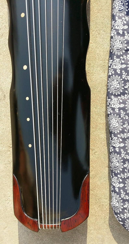 Profesional chino 7 instrumento de cuerda años de Paulownia madera guqin cítara Gu Qin: Amazon.es: Instrumentos musicales