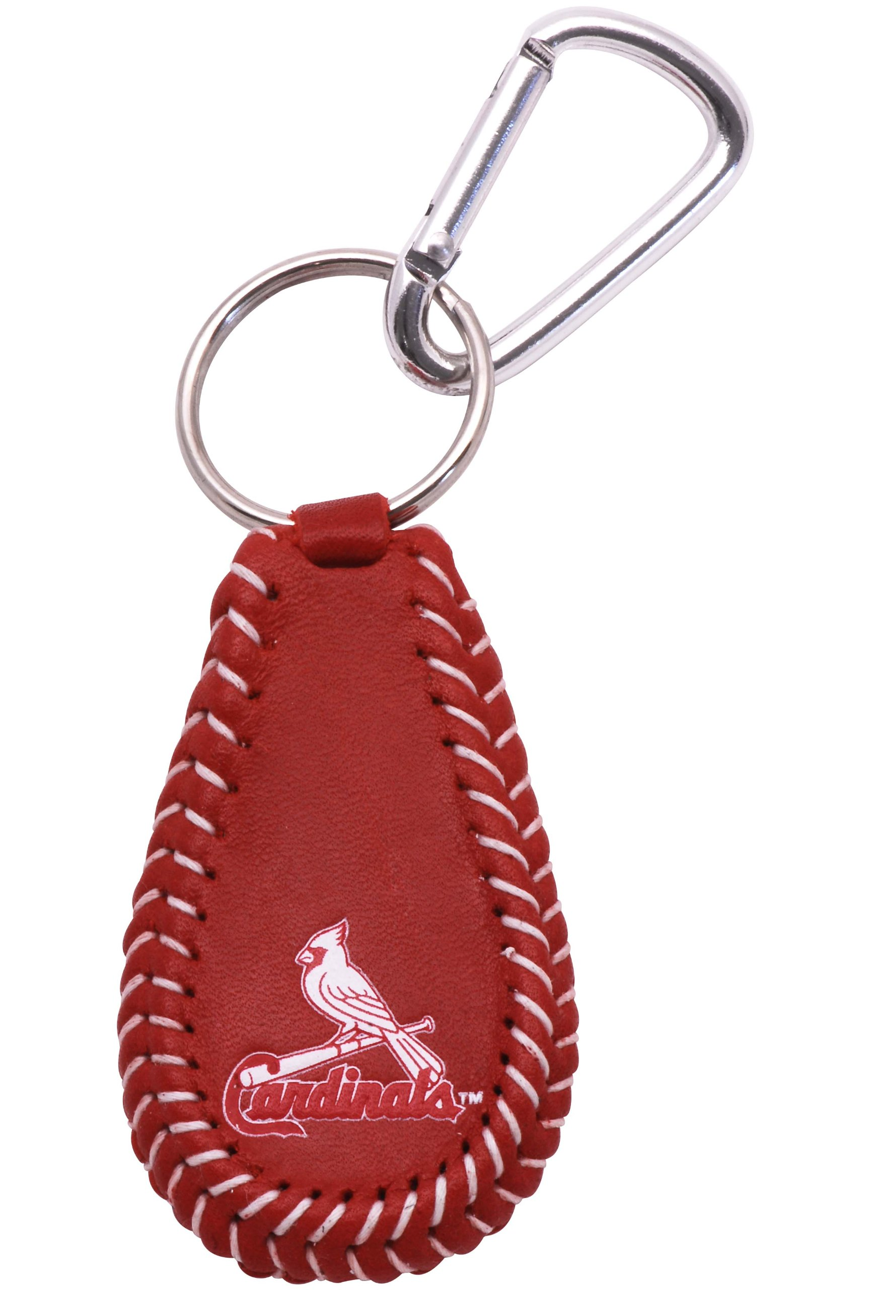 MLB St. Louis Cardinals Team Color Baseball Keychain