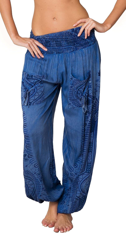 Harem pants 12-18 months HIPSTER Mint Garden