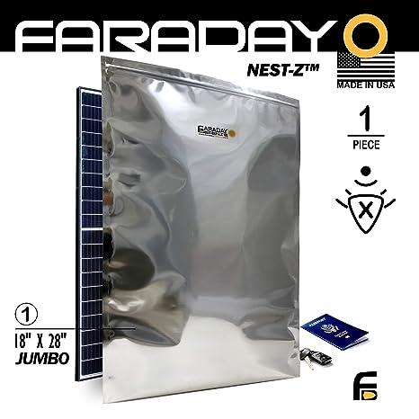Jaula de Faraday Emp/ESD XXXL bolsa Premium 1pieza grueso y pesado ...