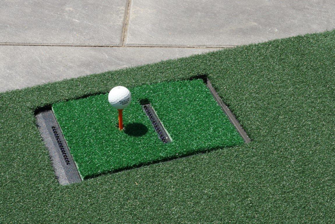 Abschlagmatte 110x150cm für Optishot Optishot für Golf Simulator (Für Rechtshand Spieler) abc0e3