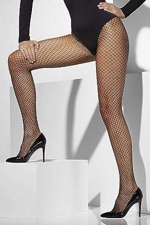 Taille Unique Smiffys Collants R/ésille Noir