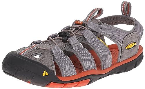 Keen Clearwater CNX-M - Escapines de Material Sintético para Hombre Black/Gargoyle UK, Color Gris, Talla 45 EU: Amazon.es: Zapatos y complementos