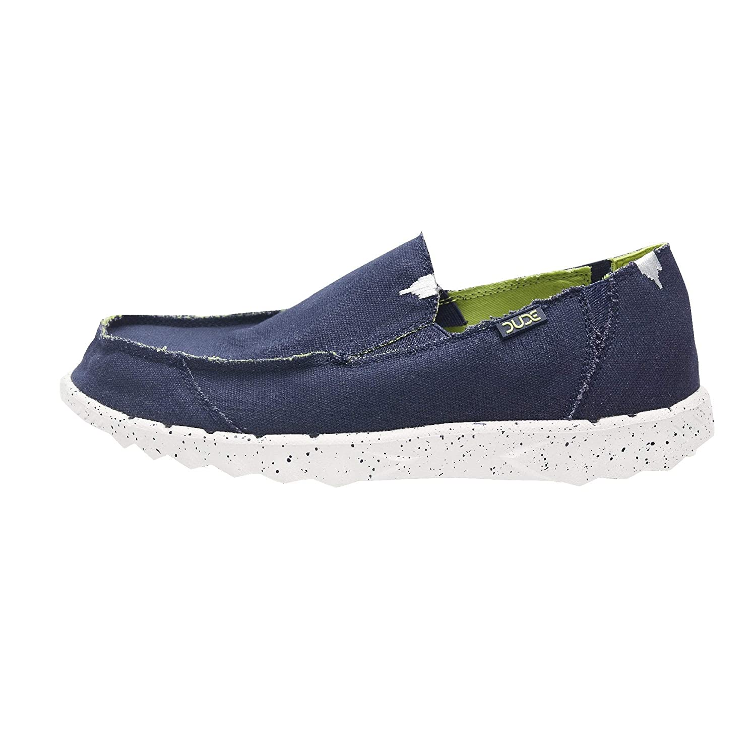 Dude Shoes Hombres Farty Funk Marina Lime: Amazon.es: Zapatos y complementos